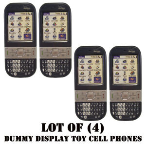 Lot of (4) Verizon Palm Centro 690 Mock Dummy Display / For Kids Toy Cell Phones