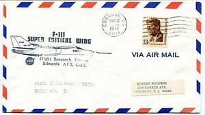 1974 F-111 Super Critical Wing - Flight Research Center Edwards California Nasa ProcéDéS De Teinture Minutieux