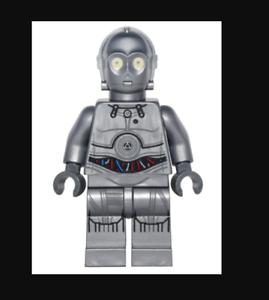 Lego Star Wars Lego Lego Star Wars Silver Protocol Droid U-3PO From 75146