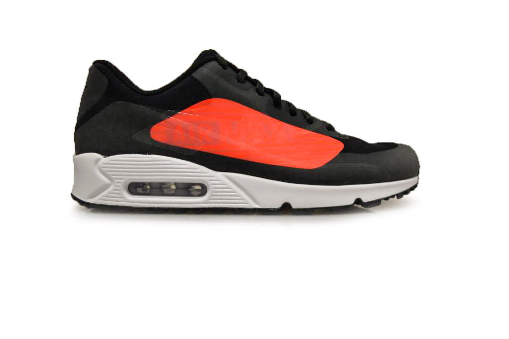 Mens Nike Air Max 90 Big Logo - AJ7182-003 - Black Trainers The latest discount shoes for men and women