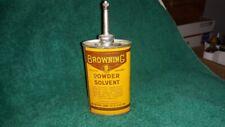 Browning Powder Solvent Gun Oil Tin Can Handy Oiler 22 Shell Box