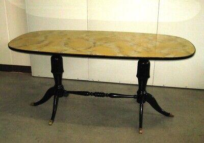 Tavolo Da Cucina In Marmo Anni 50.Tavolo Ovale Anni 60 Vintage Modernariato Italiano Ebay