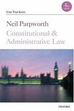 Constitutional and Administrative Law (Core Texts Series)-ExLibrary