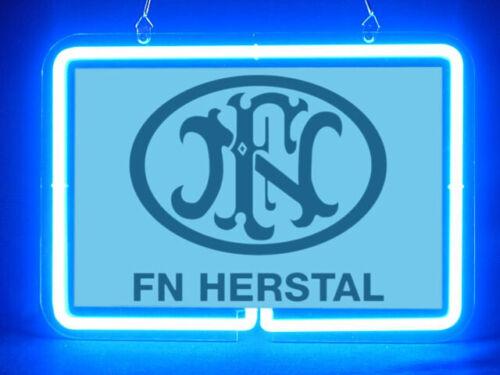 FN Herstal Repair Hub Bar Display Advertising Neon Sign