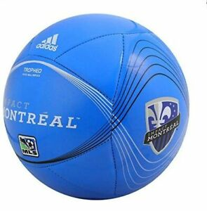 Adidas 2015 Mls Capitano Montreal Impact Soccer Ball White Royal Blue Ebay