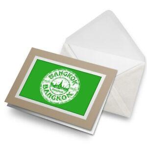Greetings-Card-Biege-Bangkok-Thailand-Thai-Travel-Stamp-5918