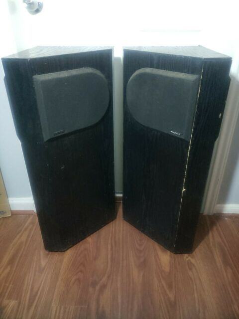Vintage Bose 401 Direct / Reflecting Speakers With Stereo Space Array  system