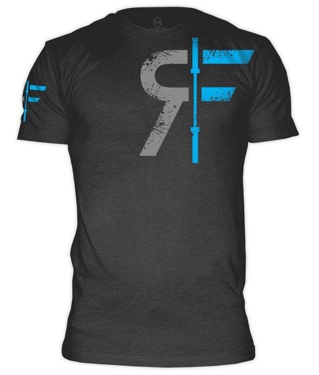 RokFit Logo Original Logo Heather Grey T-Shirt Cross Training