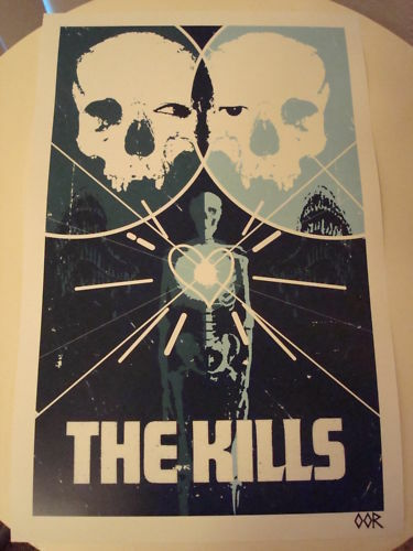 The Kills band poster print