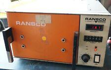 Ransco Industries Laboratory Oven Model 924 1 4 D 0 Set Of 2