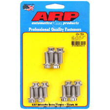 Arp Timing Cover Bolt Set 434 1504 Polished 12pt Stainless Gen Iiiiv Ls Sbc
