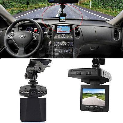 2.5in LCD HD DVR Car Camera IR Traffic Digital Video Recorder SU 270Degree 6 LED