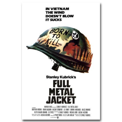 FULL METAL JACKET Classic Movie Art Silk Poster Print 13x20 24x36 inch
