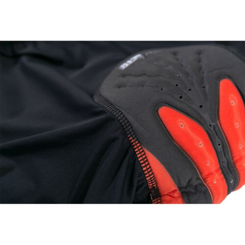 New Gel 3D Bicycle Cycling Shorts Riding Bike Padded Underwear Black Silicone