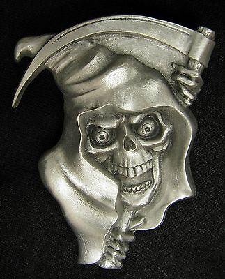 Reaper Dash Plaque, Guitar, Rock & Roll, Rat Rod Emblem #40