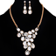 Fashion-Elegant-Women-Rhinestone-Crystal-Choker-Bib-Statement-Pendant-Necklace thumbnail 7