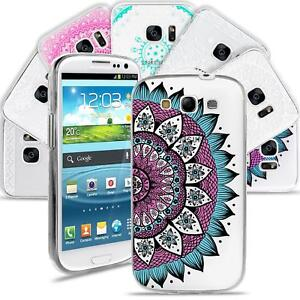 Samsung-Galaxy-S3-Neo-Handy-Schutz-Huelle-Case-TPU-Silikon-Cover-Tasche-Mandala