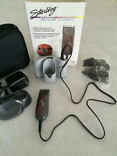 """New-WAHL Sterling """"SIDE KICK"""" Hair Trimmer w/Rechargeable Battery Pack & 4 Combs"""