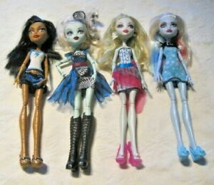 Monster-High-Doll-Lot-6-4-Dressed-Dolls