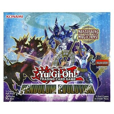 /'Pendulum Evolution/' Factory Sealed 1st Edition Booster Card Box YU-GI-OH!