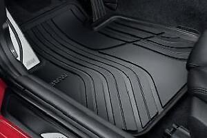 Bmw Car Mats Ebay >> Genuine BMW 3 Series All-Weather Front Rubber Floor Mats 51472339778   eBay