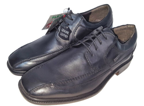 Mens New Black Leather Formal Lace Up Smart Shoes UK Sizes