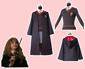 Costume Halloween Hermione.Details About Kid Adult Hermione Granger Cosplay Costume Gryffindor Halloween Suit In Stock