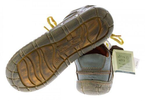 Leder Damen Halb Schuhe Comfort Sneakers Used Look Schnürer Turnschuhe TMA Eyes