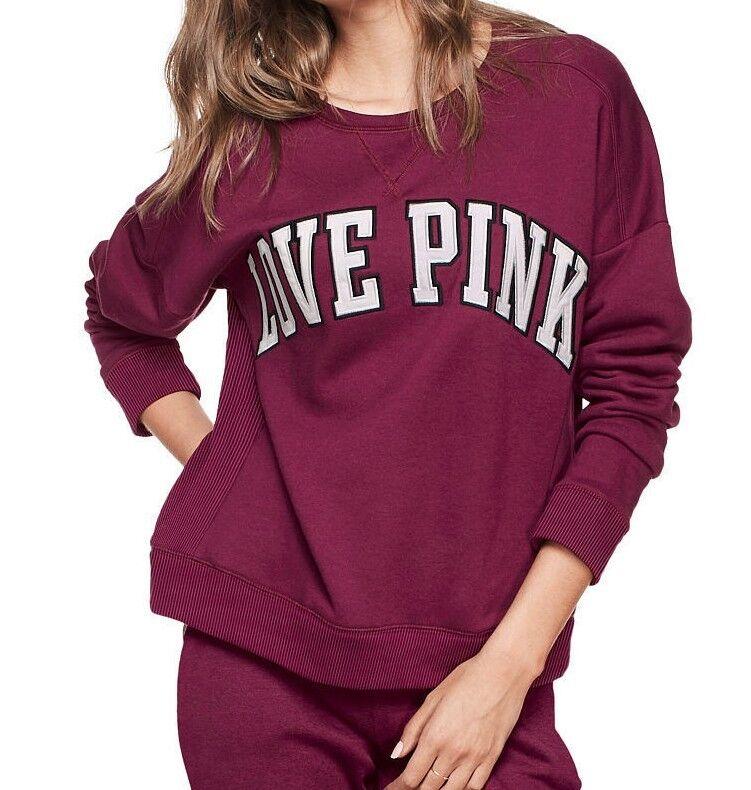 Victoria's Secret PINK BOYFRIEND CREW NWT S-M
