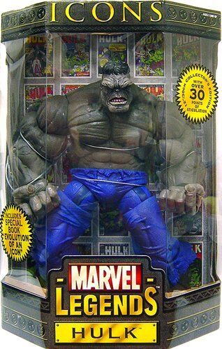 Marvel Legends Icons Hulk grau 12-inch Action Figure