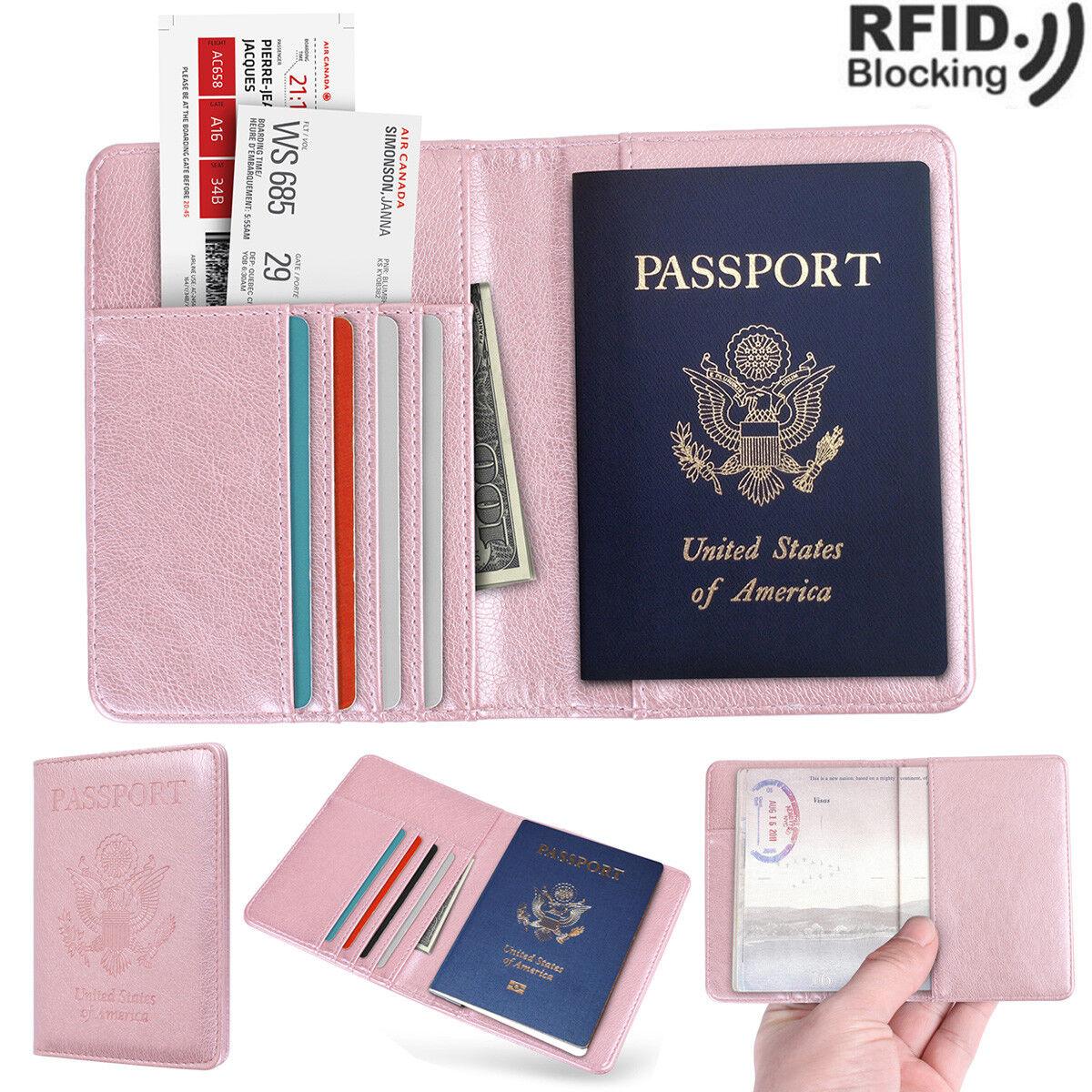 Steal My Heart Girl Brunette Smile Background Leather Passport Holder Cover Case Travel One Pocket