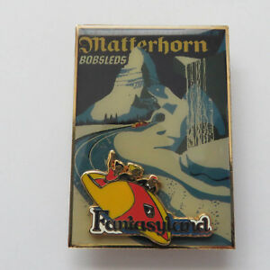 Disney-WDI-Disneyland-Attraction-Poster-Matterhorn-LE-300-Rare-Pin