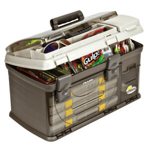 Plano 7771-01 Guide Series Premium Fishing Bait Tackle Storage System Tackle Box