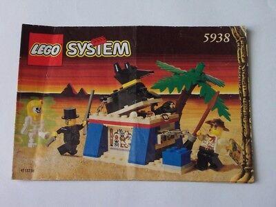 5938 Hochglanzpoliert Selbstlos Lego® Bauanleitung Instruction Nr
