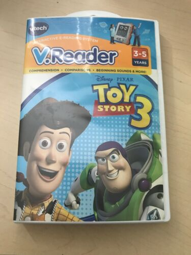 NEW VTech V.Reader Toy Story 3 Interactive E-Reading System Cartridge New In Box