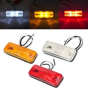 4pcs-12V-24V-4-LED-Side-Marker-Indicators-Light-Trailer-Truck-Lorry-Van-Bus-Lamp