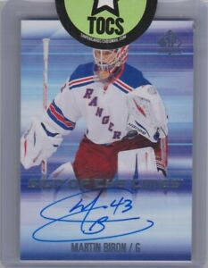 Martin-Biron-2015-16-SP-Authentic-Sign-Of-The-Times-SOTT-MB-Rangers