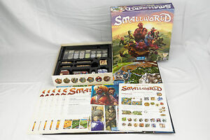 Small World Board Game Days of Wonder 99% Complete