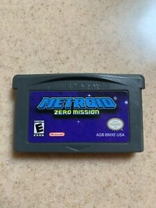 Metroid Zero Mission (Nintendo GBA) CART ONLY - AUTHENTIC TESTED WORKING & SAVES
