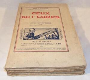 Livre-Ceux-du-1er-Corps-Abbe-J-Schuhler-Les-editions-d-Alsace-1933