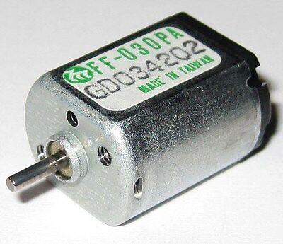 Mabuchi FF-030PA Motor - 6 V DC - 8000 RPM - CD DVD ROM Player Low Current Motor