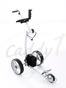 Ahowa Gmbh Elektro Trolleys.Details Sur Elektro Golf Trolley Caddyone 600 Mit Lithium Akku