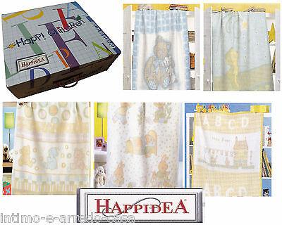 Coperta Culla/lettino - Happidea. Sogni D' Oro. Happi Children. 110 X 150. Chiaro E Distintivo