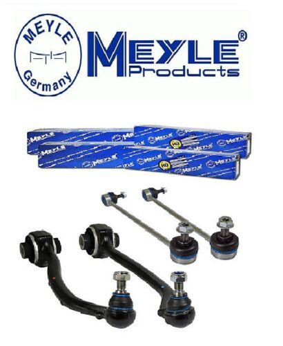 2x Meyle Front Crossbars Links + 2X Meyle HD Reinforced Crossbars For Mercedes