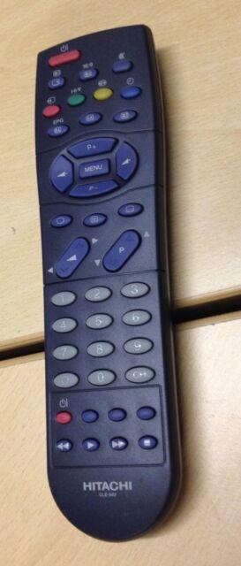 Control Remoto Tv Hitachi CLE-942 C28W430N C28W433N C32W433BN C32W433N