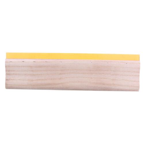 Screen Printing Squeegee Wood Handle Scraper Scratch Board 38cm 75 Hardness