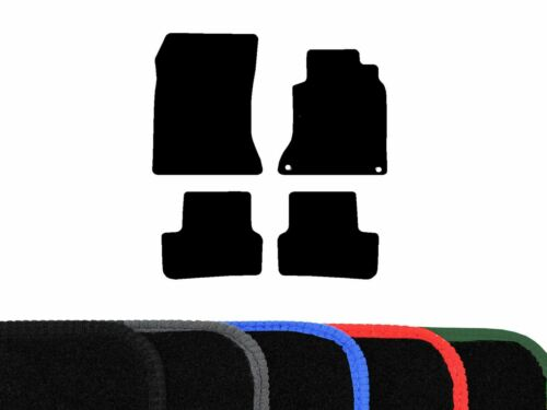 Tailored Black Carpet Floor Mats 4pc Colour Trim for Mercedes B Class (2012 on)