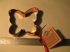 """1 pc Wilton Butterfly Solid Copper Cookie Cutter New w/Tags  ~5"""" x 5"""" (20)"""