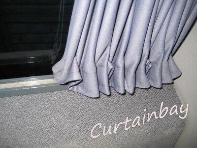 Mercedes Sprinter VW LT curtains set for 2 side windows grey color.