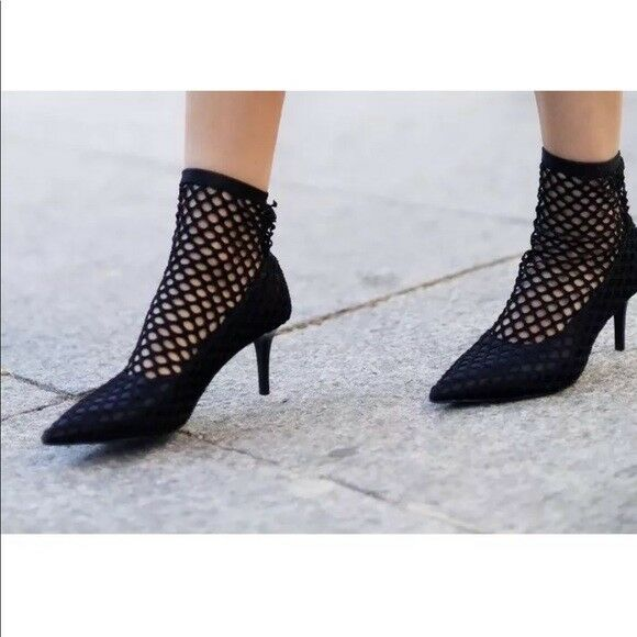 Zara Ritaglio Calza Scarpe Stivali Tacco Misura RIF. 7226 201